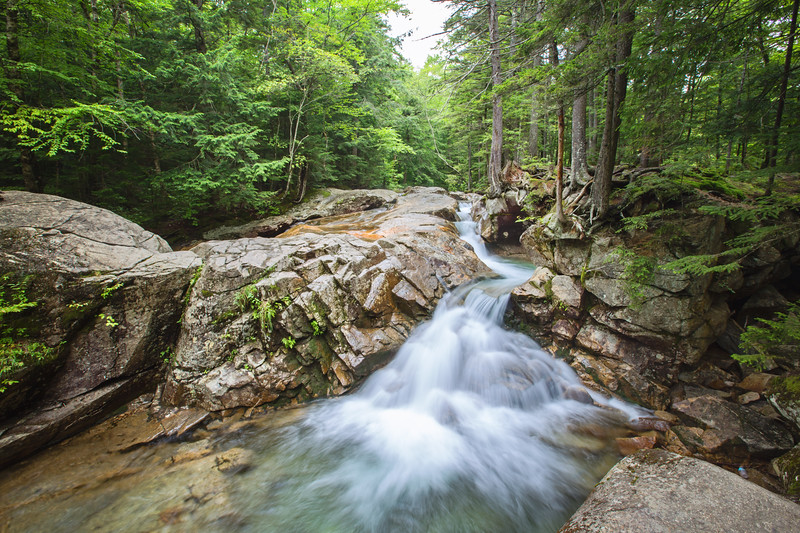 Big Basin, Franconia Notch, White Mountains, New Hampshire
