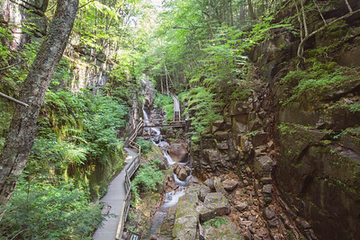 Flume Gorge, Franconia Notch, White Mountains, New Hampshire