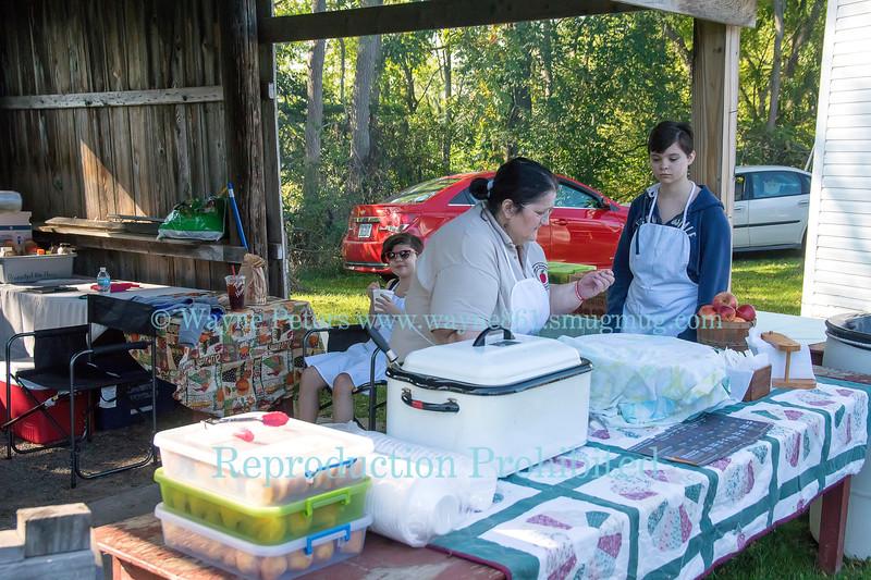 Newfane Apple Harvest Festival 2017 in Newfane, NY.