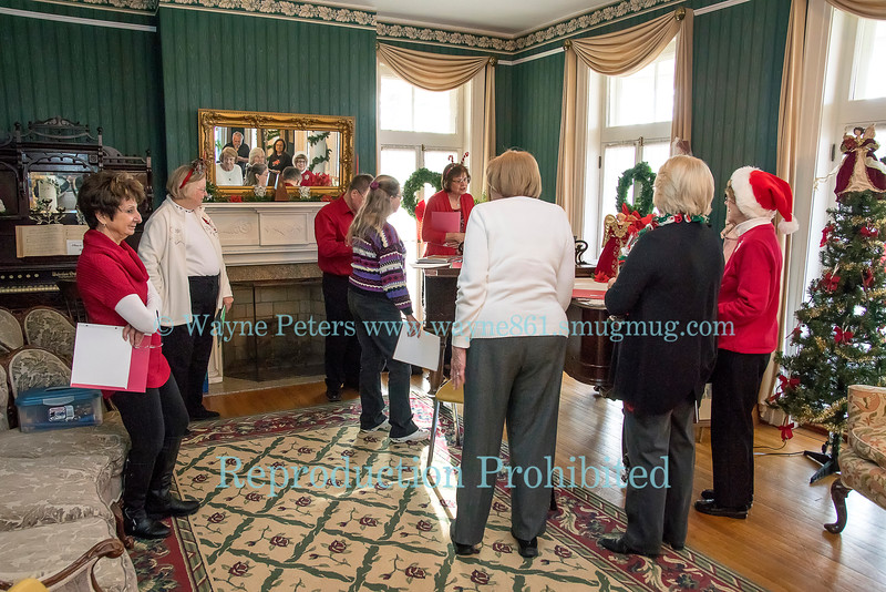 Old Fashioned Carol Sing and the Newfane Methodist Church Bell Choir at the Van Horn Mansion.