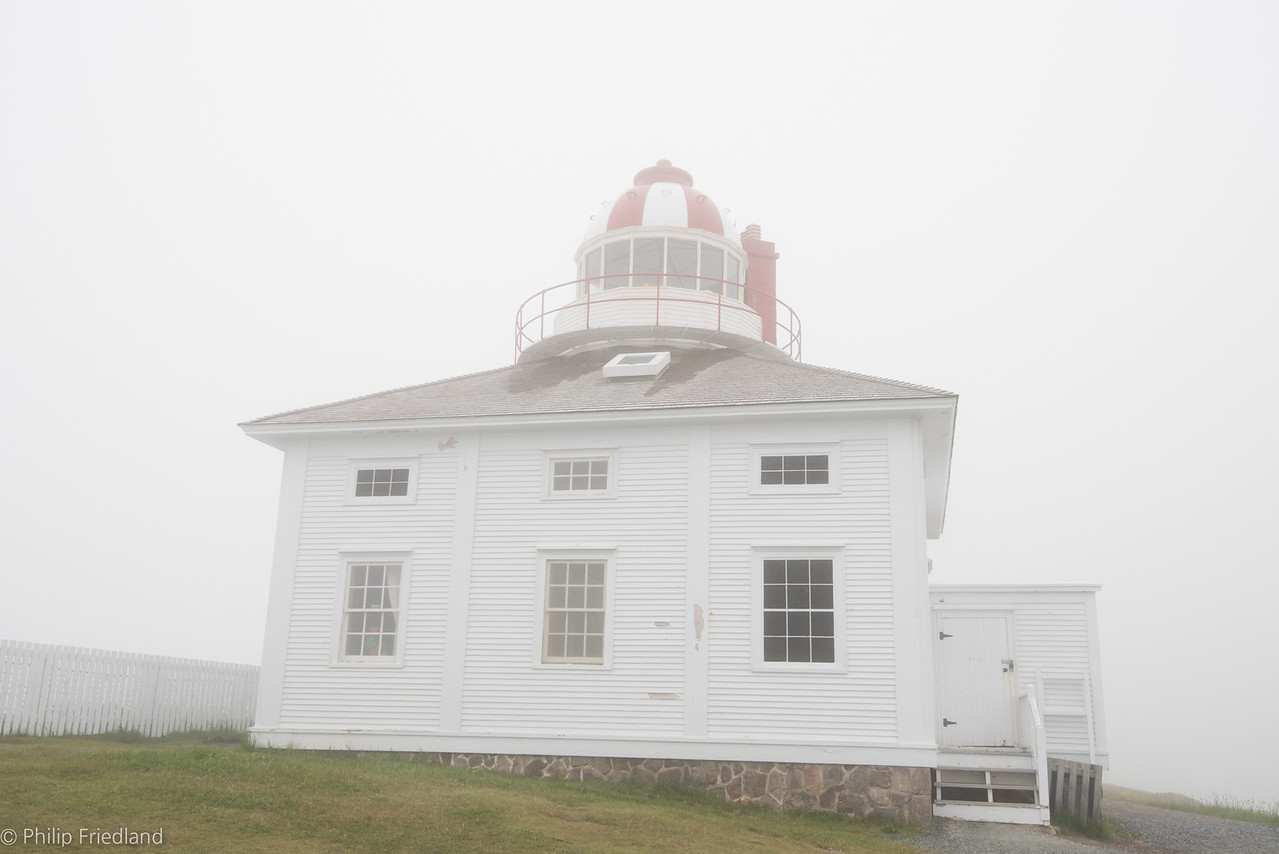 Cape Spear with Fog