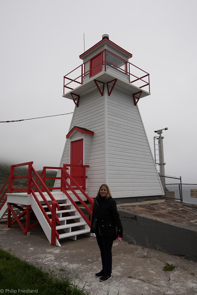 Down From Signal Hill-Little Lighthouse