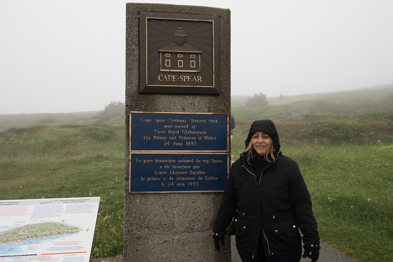 Cape Spear with Fog-Connie is COLD
