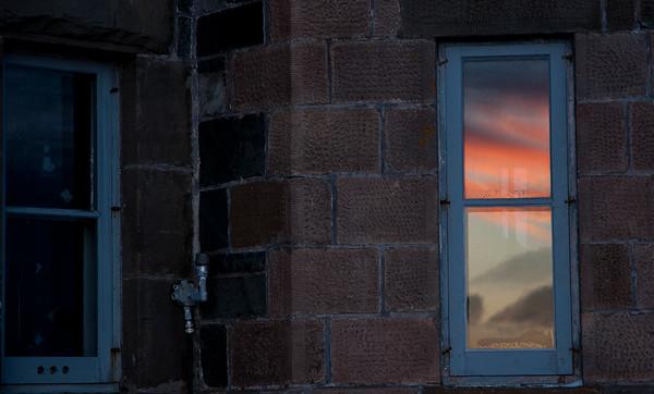 Sunset Reflections, December 2006