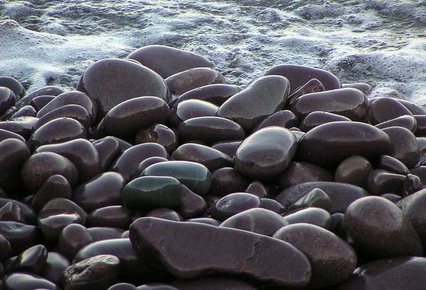 Sea-weathered Rocks, Freshwater Bay, Newfoundland