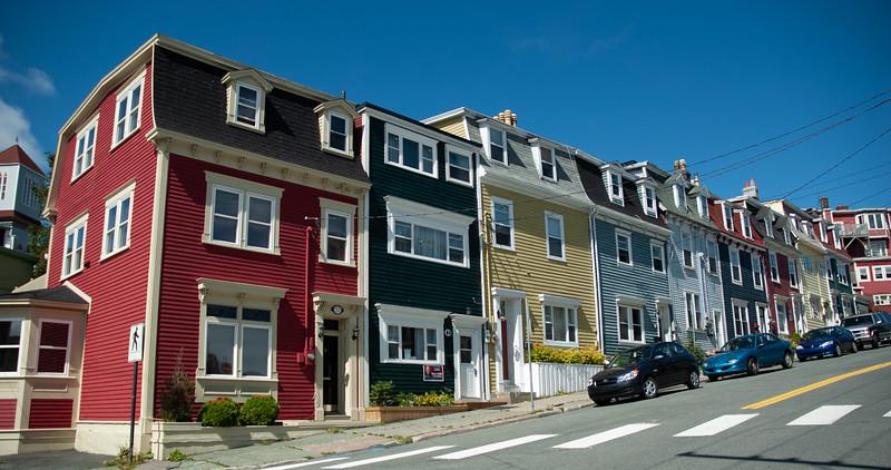St. John's houses
