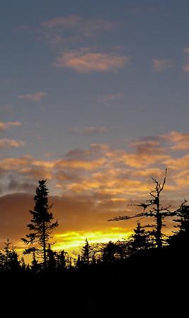 Sunset in Freshwater Bay, Newfoundland