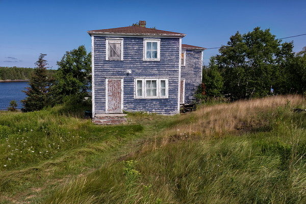 Abandoned House, Burnside Newfoundland.