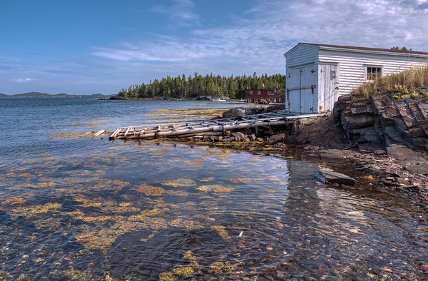 Fishing Stage on Tickle Road, Burnside Newfoundland.
