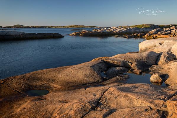 Shoreline on Greenspond Island