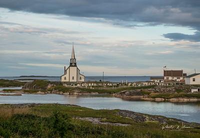 St. Luke's Anglican Church in Newtown, Newfoundland