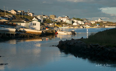 Houses in Greenspond Island, Newfoundland