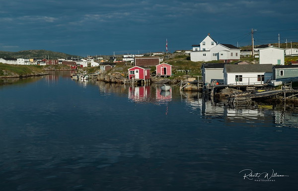 Greenspond harbour
