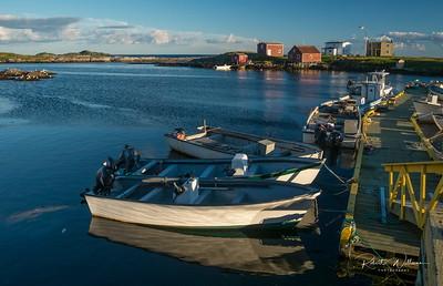 Boats near Wings Island, Greenspond