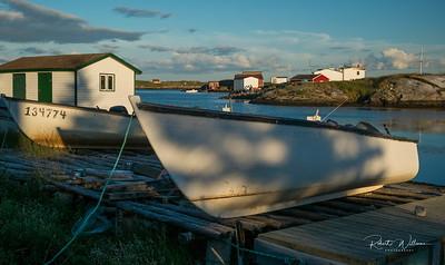 Fishing Boats, Greenspond Island