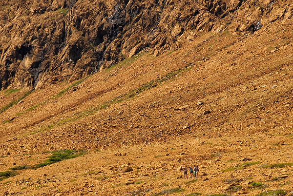Hikers in the Tablelands
