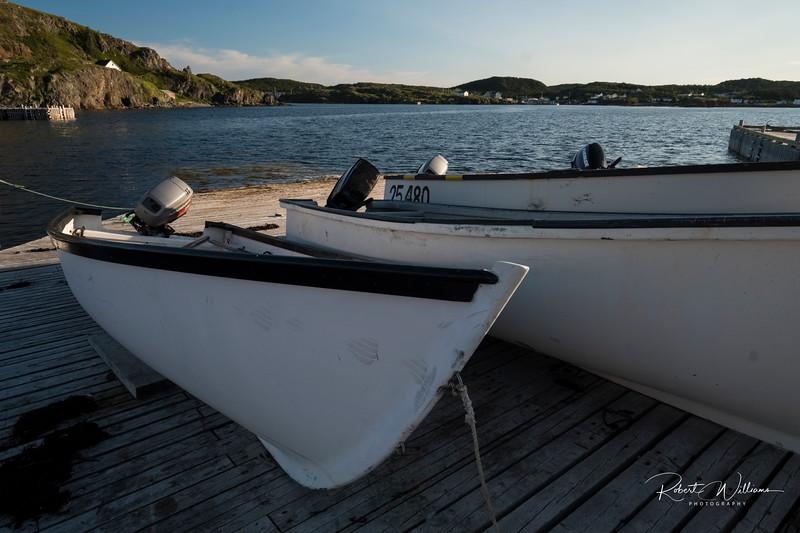 Fishing Boats in Jenkins Cove