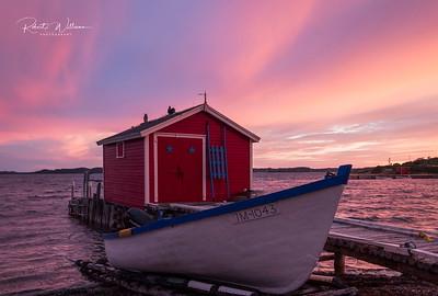 Storage Hut, Herring Cove, South Twillingate Island