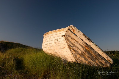 Old Dory in Back Harbour, NorthTwillingate Island, Newfoundland