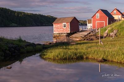 Fishing Stage, Salt Harbour Island, Newfoundland