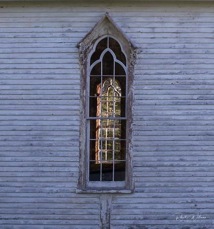 Church Window, Little Harbour, Newfoundland