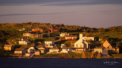 Twillingate at Sunset, Newfoundland