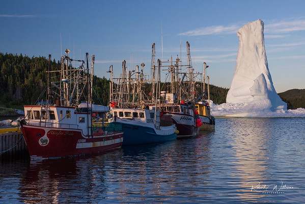 The Bridgeport Iceberg near the wharf