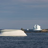 Icebergs in Mutford's Cove, North Twillingate Island, Newfoundland