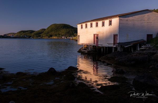 Moreton's Harbour on New World Island, Newfoundland