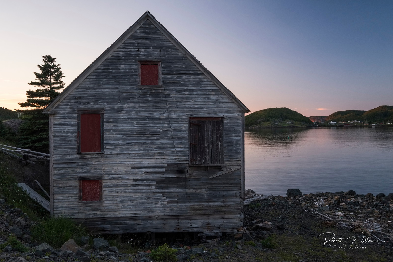 Abandoned Building in Moreton's Harbour
