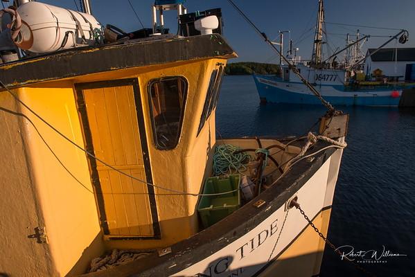 Fishing Vessel in Bridgeport, Newfoundland