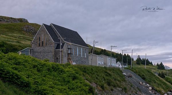 Stone Church in Ferryland, Newfoundland