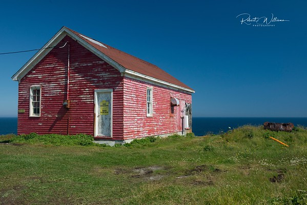 Storage Building at Cape Race