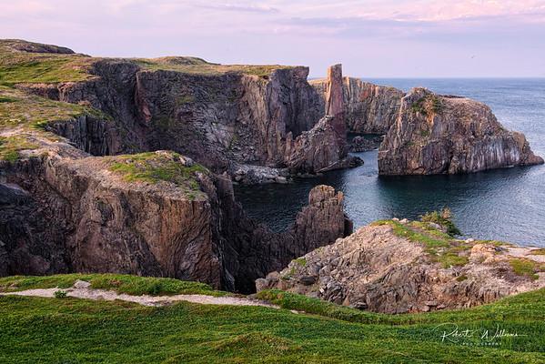 Cable John Cove, near Bonavista Newfoundland