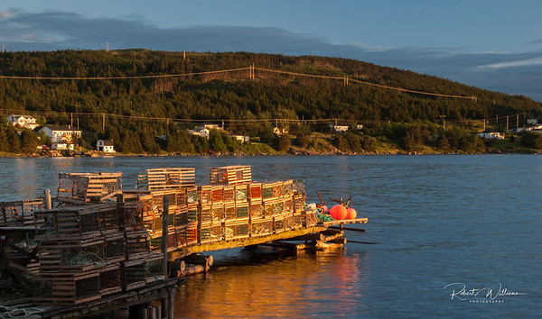 Lobster Traps in Heart's Content, Newfoundland