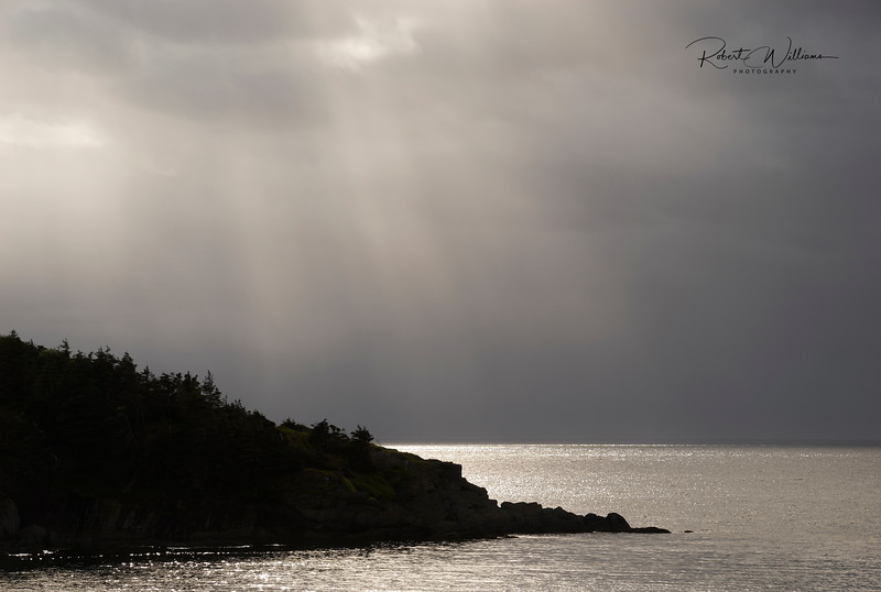 Clearing Storm near Heart's Delight, Newfoundland
