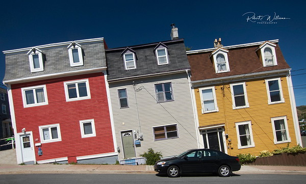 The Leaning Houses of St. John's Newfoundland