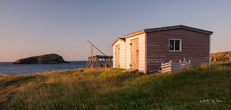 Fishing Stage and Storage Buildings