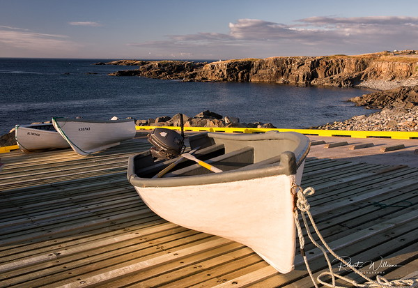 Fishing Boats in Elliston, Newfoundland