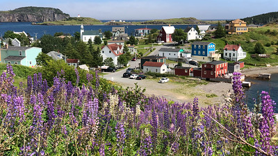 Quaint seaside village in Newfoundland