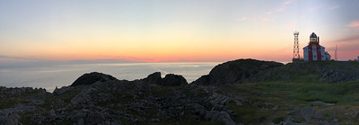 Cape Bonavista Lighthouse at sunrise