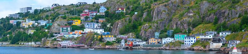 Jelly Bean Houses in St. John's Newfoundland