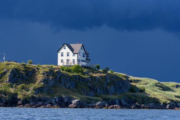 Storm brewing, Newfoundland coastline
