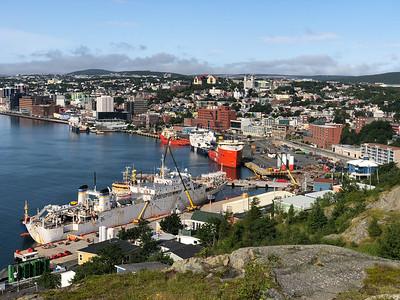 Port of St. John's Newfoundland