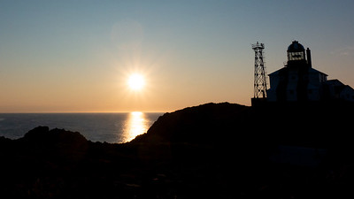Cape Bonavista Lighthouse at sunrise