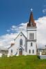 The Fogo Anglican Church at Fogo, Fogo Island, Newfoundland and Labrador, Canada.