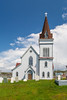 The Fogo Anglican Church at Fogo, Fogo Island, Newfoundland and Labrador, Canada.