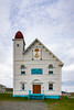 The Masonic Temple at Twillingate, Newfoundland and Labrador, Canada.