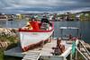 A fisherman's display near Fogo, Fogo Island, Newfoundland and Labrador, Canada.