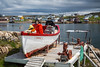 A fisherman's display near Fogo, Fogo Island, Newfoundland and Labrador, Canada.